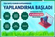 YAPILANDIRMA BAŞLADI