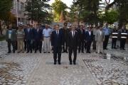19 Eylül Gaziler Günü düzenlenen törenle kutlandı.