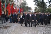 İlçemizde Gazi Mustafa Kemal Atatürk'ün ölümünün 79. yıldönümünde resmi törenle anıldı.