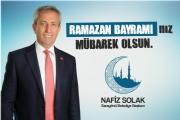 Başkan Solak'tan Ramazan Bayramı Mesajı