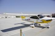 Sivil Havacılık Uçuş Akademisi'nin ilk eğitim uçağının tanıtım toplantısı gerçekleştirildi.