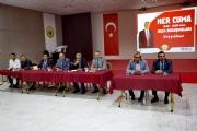 BAŞKAN SOLAK ''HALK BULUŞMALARI'' KAPSAMINDA VATANDAŞLARLA BİR ARAYA GELDİ.